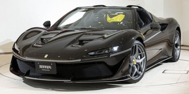 Only Japan: one of the rarest Ferraris will go under the hammer