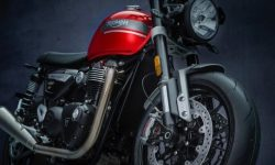 Revamped Triumph Speed Twin 2021 motorcycle