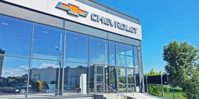 TSM Menter – Auto – the first of the company's car dealer in Chevrolet affordable segment in Ukraine