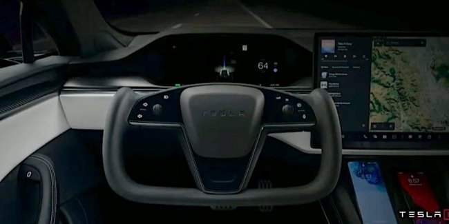 The new steering wheel tesla Model S Plaid was uncomfortable while driving
