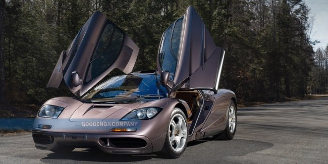 Don't miss the opportunity: a unique McLaren F1 is on sale