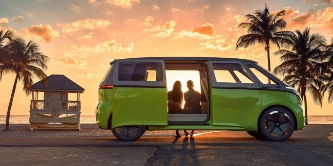 First shots of the new VW ID Buzz
