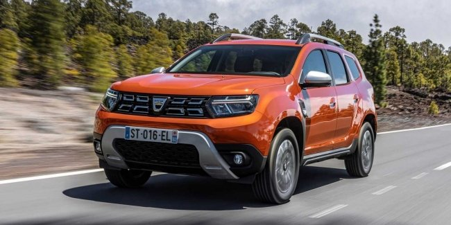 Dacia unveils updated Duster