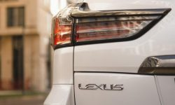 The new Lexus LX features leaked into the network