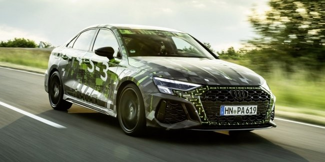 """Interesting details about the most """"charged"""" Audi A3"""