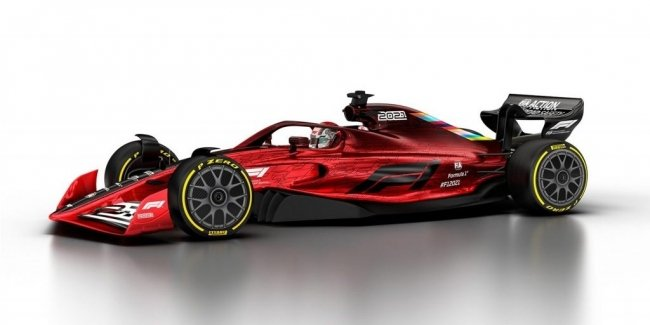 What will be the F1 cars in 2022?