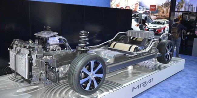 The future is not for electro: Toyota's alternative reality