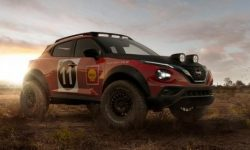 Another thing: Nissan Juke turned into a rally car