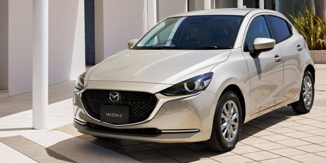 Mazda 2 updated, but not everywhere