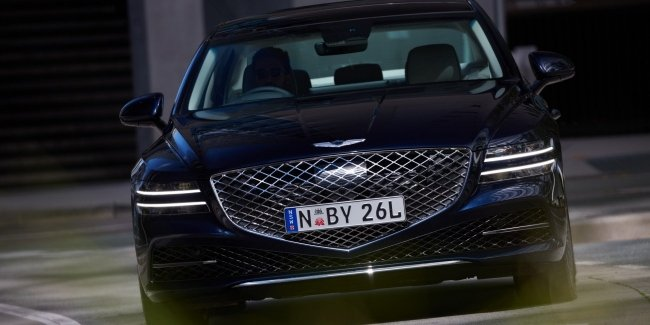 Genesis G80 got an eco-friendly and low-power diesel