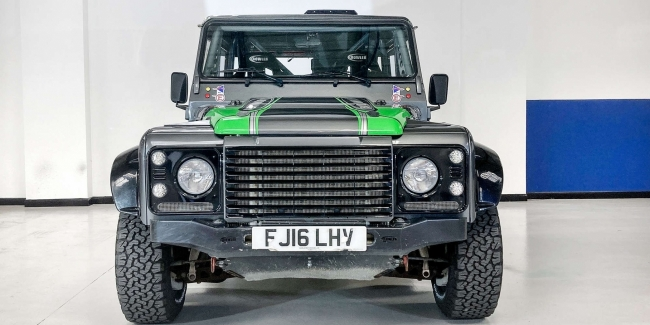 The fastest and most powerful Defender is up for sale