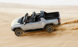 Elephant with cheetah speed: demonstration of the dispersal of the Hummer EV