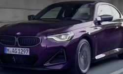 The appearance of the new BMW 2-Series coupe revealed before the premiere