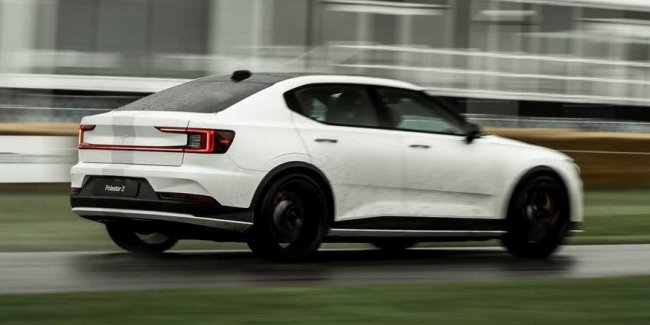 Seriously upgraded Polestar 2 revealed in Goodwood