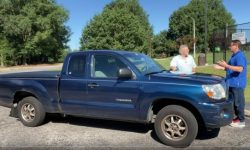 Why they buy Toyota: In the U.S. Toyota Tacoma pickup truck reeled 2.4 million km!