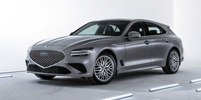 Genesis officially unveils new G70 Shooting Brake