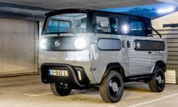 Xbus is a bus, a pickup truck, and a camper. Yes, and on batteries