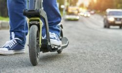 The first fine of the driver of the electric scooter, and immediately for 127 thousand hryvnia