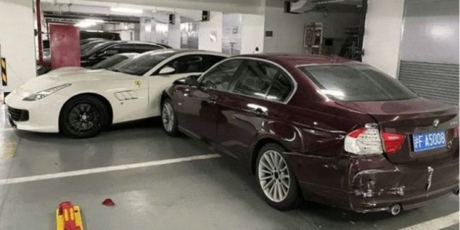 It is more expensive to quarrel with yourself: the family conflict ended with a broken BMW, Ferrari, Porsche AND Mercedes