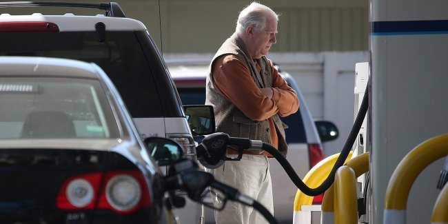 Fuel at gas stations has risen in price by almost 20%
