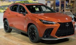 The new Lexus NX officially debuted in Chicago