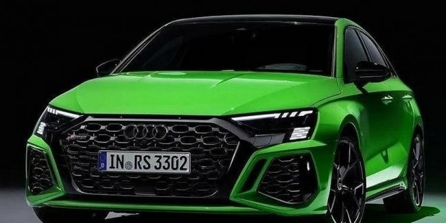 """New Audi RS 3 """"burned"""" before the premiere"""