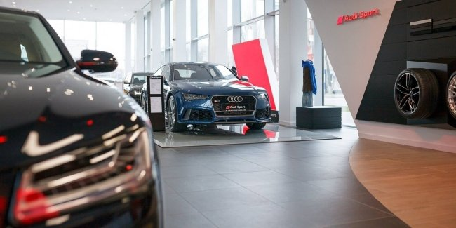 Video: what happened to the Audi dealership after the flood in Germany