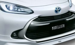 Just presented and immediately tuned: branded styling kits for hatchback Aqua