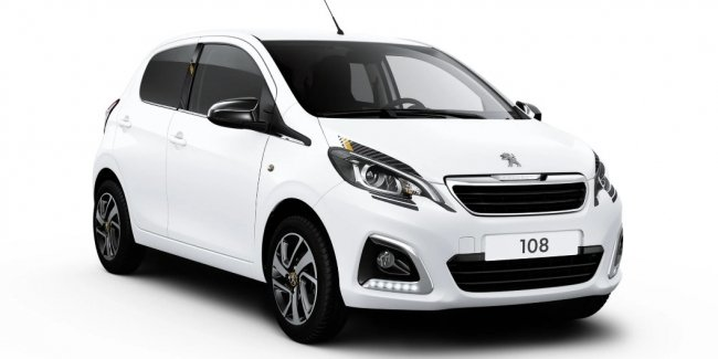 Compact Peugeot 108 updated