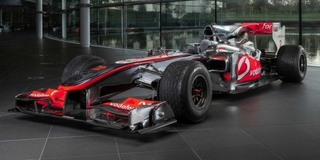 Lewis Hamilton's car was sold for a record amount