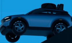 The first images of the new Lada Niva