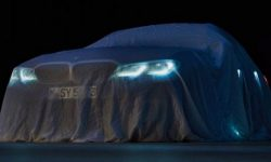 The first photo of the updated BMW Treshka