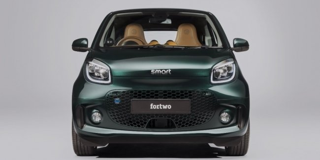 smart EQ fortwo with Brabus décor