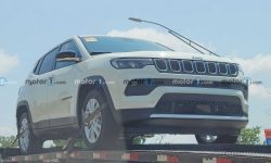 Photospies noticed a hybrid Jeep Compass
