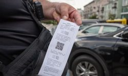 Kiev car owners are massively fined 700 UAH