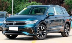 VW introduced a Tiguan with an upgraded interior
