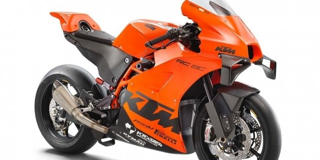 All 100 KTM RC 8C motorcycles sold in less than 5 minutes