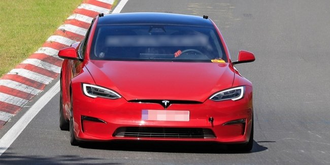 A new record? Model S Plaid officially at the Nürburgring