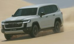 """The most """"evil"""" Land Cruiser 300 was noticed in Australia"""