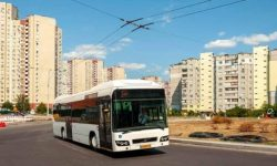 Luxembourg buses-hybrids began to travel in Kiev: their pros and cons