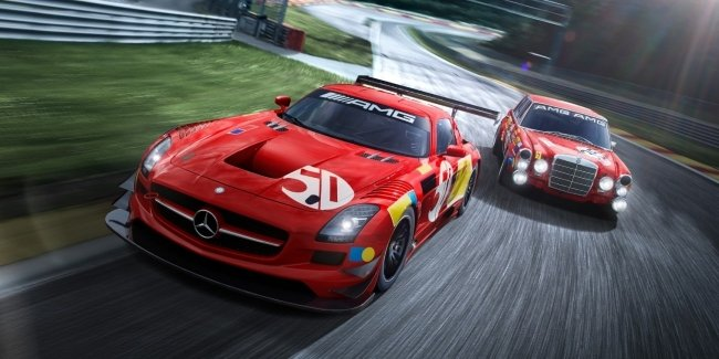 """Trio of Mercedes-AMG sporcars will remind you of the success of the """"Red Pig"""""""