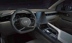The first official pictures of the interior of the new Hyundai Custo