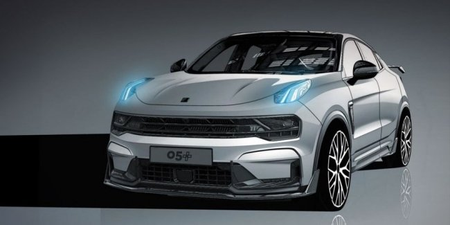 New version of Lynk Co 05+ boasts power