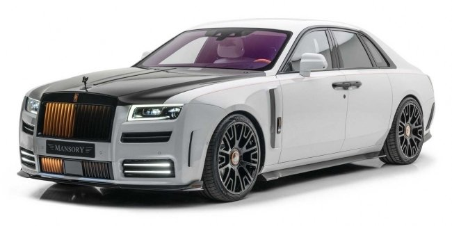 """""""Spirit of ecstasy"""" in shock: Mansory introduced a tuning package for Rolls-Royce Ghost"""