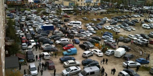 Will I have to pay for parking in the courtyards of Kiev?