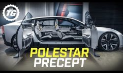 POLESTAR PRECEPT: is this recycling-obsessed EV the ultimate Tesla Model S rival?
