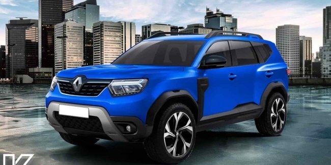 What might a seven-seater Duster look like?