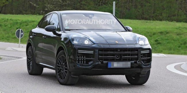 Technical features of the updated Porsche Cayenne Coupe revealed