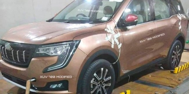 Mahindra is preparing a new crossover with a bright design