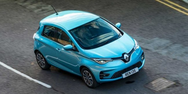 Renault will remove from production electric car Zoe